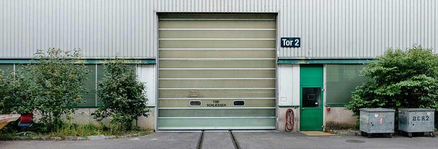 garage basculante en PVC