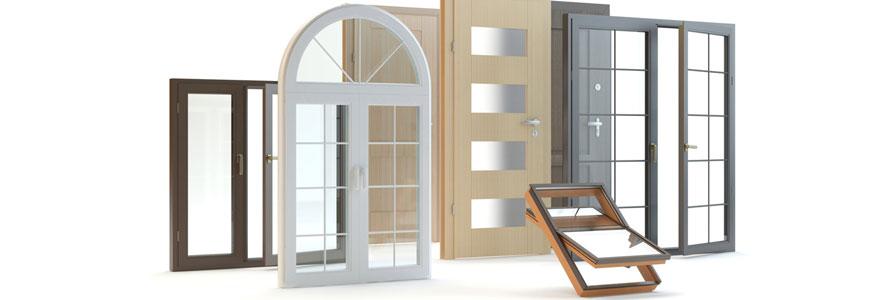 Portes fenêtres et portes d'entrée